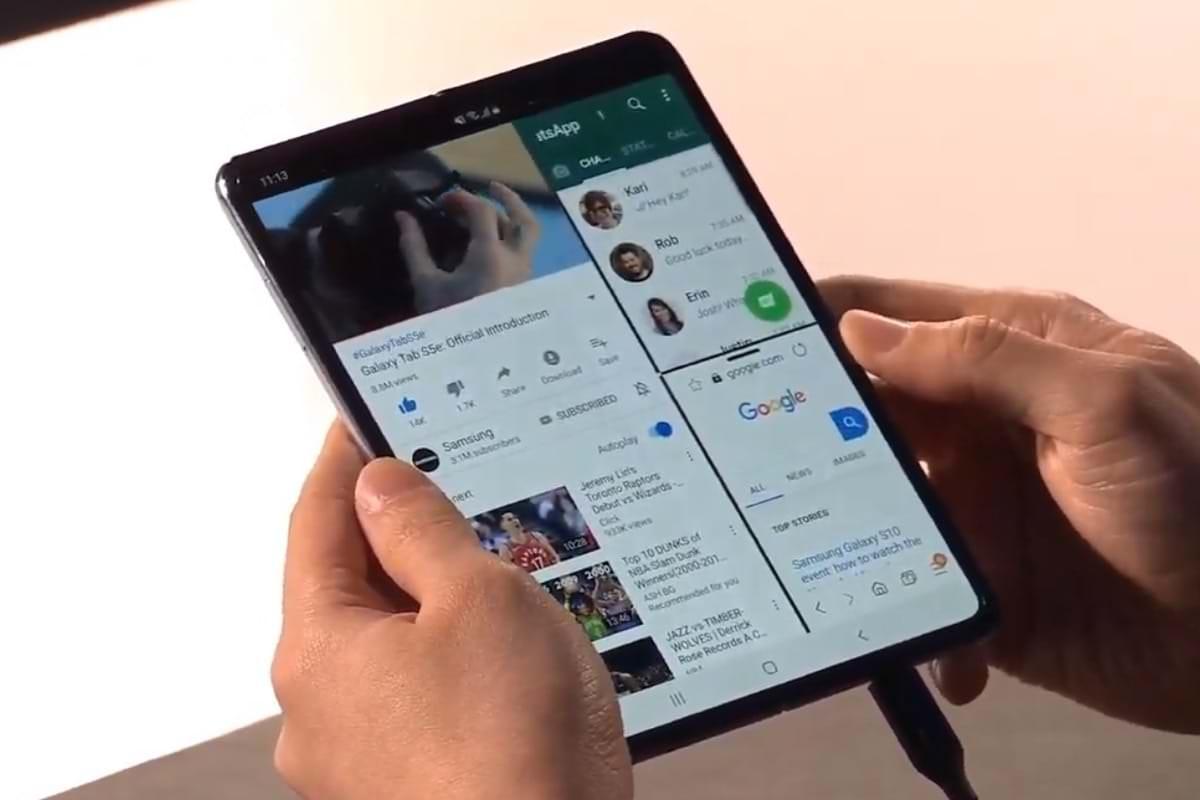 Картинки по запросу Samsung Galaxy fold