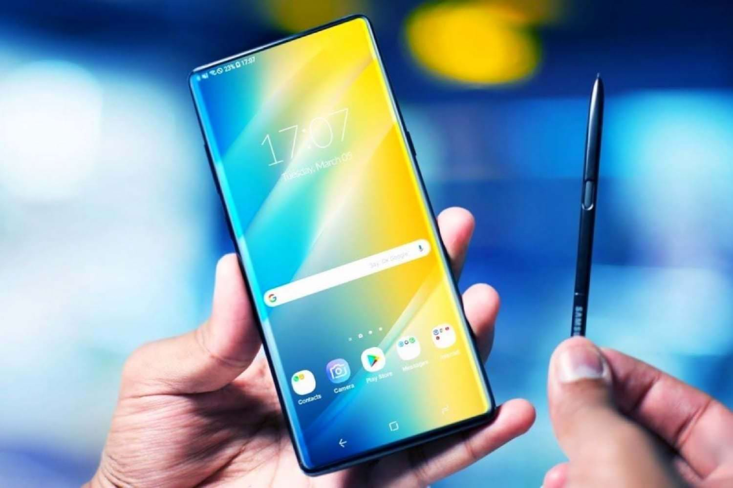 Samsung Galaxy Note 10 на официальных изображениях поверг всех в шок