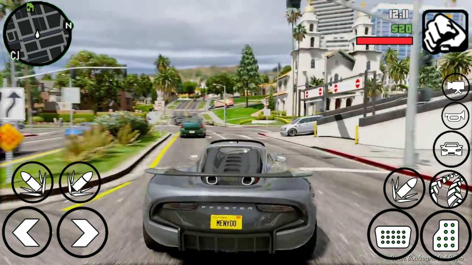 Grand Theft Auto V вышла бесплатно для Android