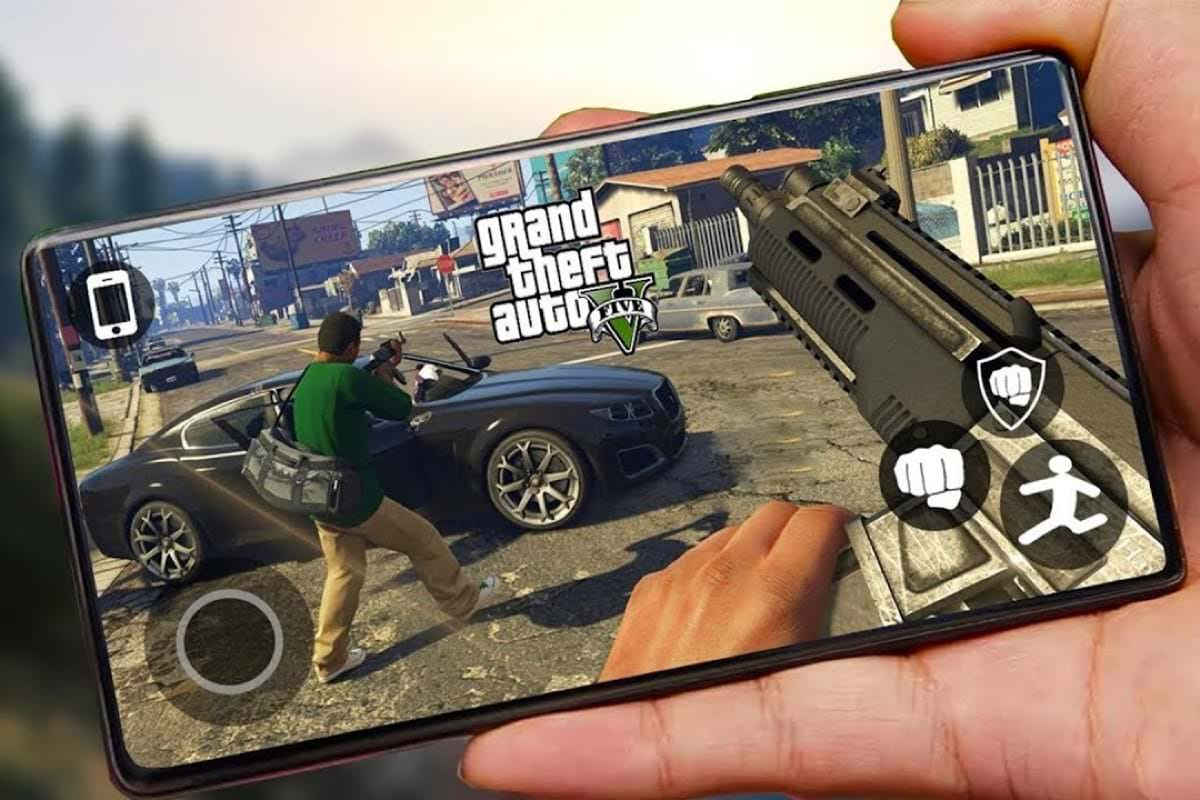 Grand Theft Auto V выпустили бесплатно на Android
