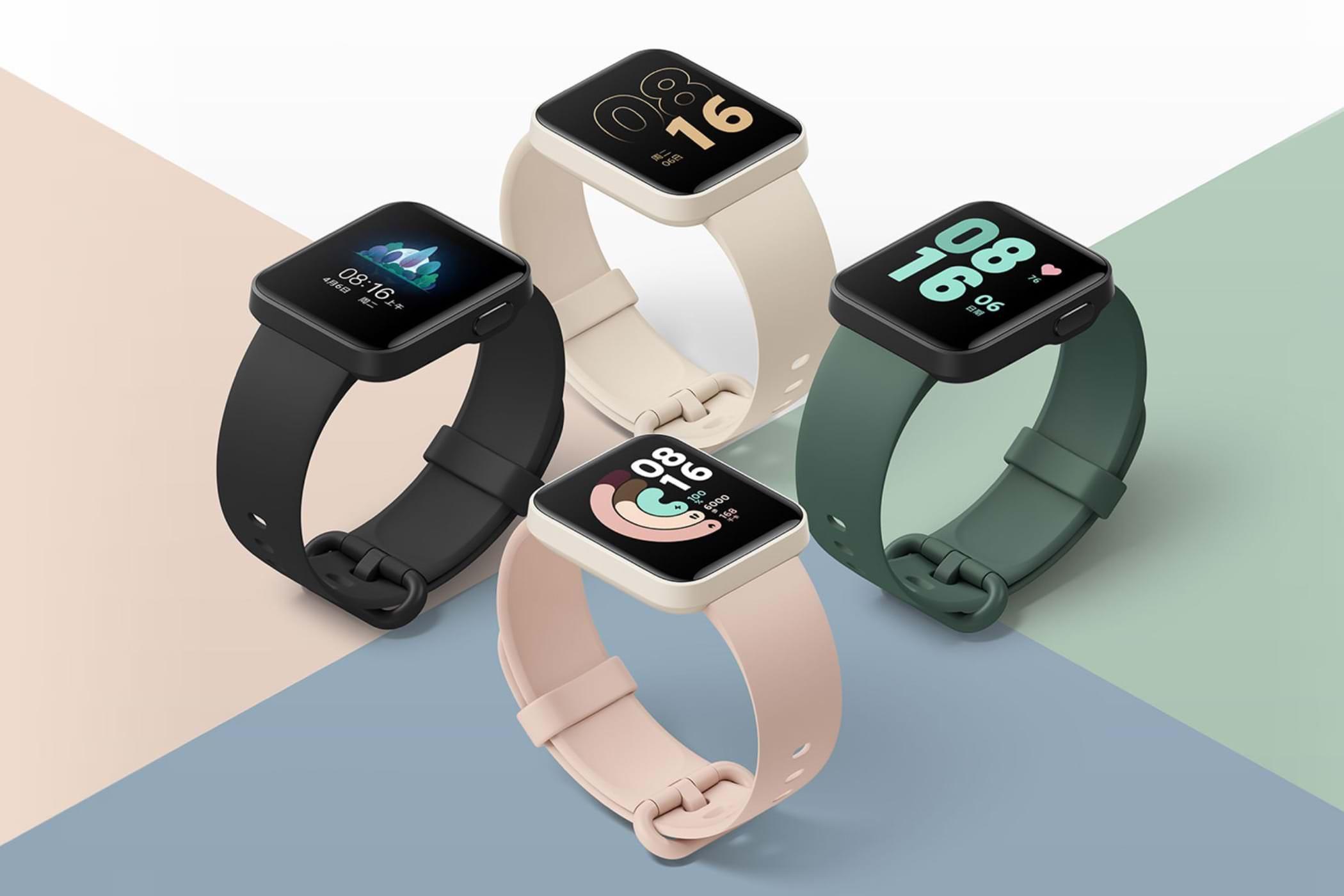 0 Xiaomi выпустила умныечасы Redmi Watch с цветным экраном и NFC